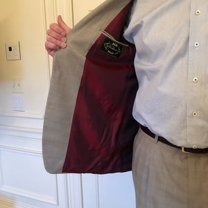 Other - Man's suit in lightweight fabric